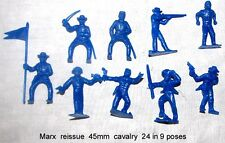 Marx reissue 45mm cavalry  24 in 9 poses    G