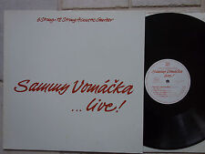 Sammy Vomáčka ‎– Live! (6 String + 12 String Acoustic Guitar)  Vinyl  LP  top
