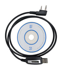 Program Software CD& USB Programming Cable for Baofeng UV-5R BF-888S Radios FH