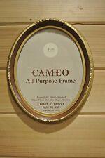 Vintage Oval Picture Frame ~Gold Resin Frame
