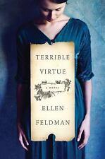 Terrible Virtue : A Novel by Ellen Feldman (2016, Hardcover)