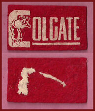 OLD 1940's Colgate University Red Raiders Football Candy Felt Pennant!