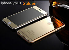 """Gold Front and Back Tempered Glass Screen Protector Cover for iPhone 6 4.7"""""""