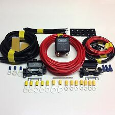 Great Value 4 mtr Split Charge Relay Kit/System With 100amp Heavy Duty Relay