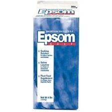 Aaron Brands Laxative  Epsom Salt 4lb stimulate growth Lawn Garden Fertilizer