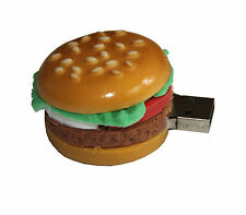 Burger Fast Food - USB Stick with 8 GB memory / usb memory Stick Flash Drive