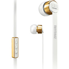 RHYTHMZ ® Elite HD Earphone Headphone with microphone volume control (White)