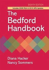 The Bedford Handbook 2009-2010 by Diana Hacker and Nancy Sommers (2009,...