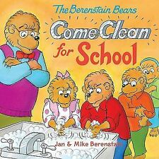 The Berenstain Bears Come Clean for School-ExLibrary