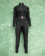 1/6 Hot Toys Marvel Captain America MMS239 Black Widow Jumpsuit Loose Figure