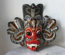 Older CEYLON cobra-devil dance mask Sri Lanka