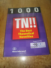 Chess Book:1000 TN!! The Best Theoretical Novelties by Chess Informant 638 pages
