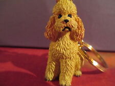 POODLE APRICOT SPORT CUT   ~ KEY CHAIN ~ GREAT GIFT ITEM