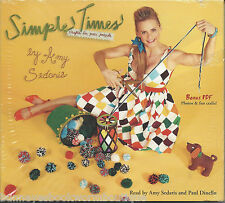 SIMPLE TIMES Amy Sedaris NEW Audio Book CDs Crafts HUMOR Paul Dinello FUNNY