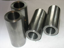 "Steel Bushings /Spacer 1 1/2 "" OD X 1 1/4""  ID X 2 1/2 "" Long  2 pcs  CRS DOM"