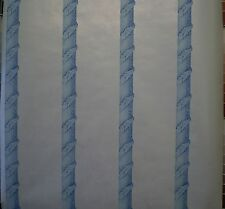 Pearl White Paper with Blue Columns & Leaves by International 740710