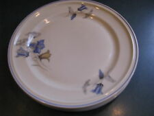 "2 Rosenthal Selb Germany WINIFRED Bluebell 7-3/4"" Salad Plate"