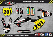 KTM 65 2016 model SAFARI STYLE - Full Graphics, custom kit stickers decals