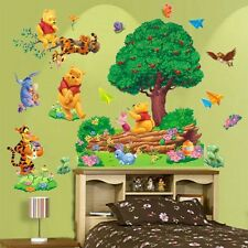 Removable Winnie The Pooh Wall Sticker Vinyl Decals Nursery Baby Room Decor WN#
