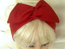 Back in stock Red  Wide Wire Headband