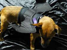 DOG BLACK BAT WINGS SIZE X SML FANCY DRESS .. BENDABLE WINGS !!