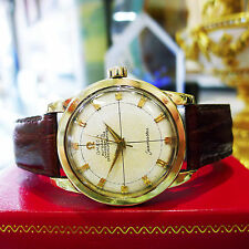 Mens Vintage OMEGA Seamaster Stainless Steel Yellow Gold Automatic Watch