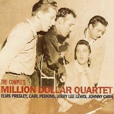 Elvis Presley Carl Perkins Cash The Complete Million Dollar Quartet CD Brand New