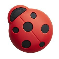 Kids Cupboard / Drawer Door Knob Handles Cebi Joy LADYBIRD RED/BLACK