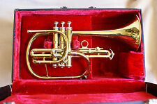 "Nice & RARE vintage REYNOLDS ""EMPEROR"" flugelhorn ! RMC era ! GREAT condition!"