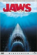 Brand New DVD Jaws (Widescreen Anniversary Collector's Edition) Steven Spielberg