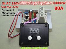 AC 220V 80A Adjust Voltage Regulator Motor Speed Control Lamp Dimmer Thermostat