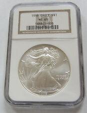 1995 MS69 American Silver Eagle 1oz.