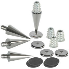 Dayton Audio DSS3-BC Black Chrome Spike Set 4 Pcs.