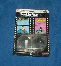 Superman & Batman View Master Double Vue DC GAF Cartridge 1978