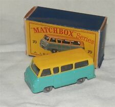 1960s.Matchbox.Lesney.70 Ford Thames Estate Car.Grey plastic wheels.Mint in box