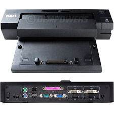 Dell E-Port Plus Dock Station Replicator PR02X M2800 M4800 M6800 E7440 E7450
