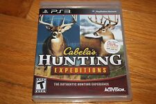 Brand New Factory Sealed PS3 Cabela''s Hunting Expeditions SHIP FREE US FAST