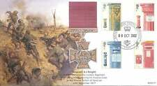 BFPO Army 2002 Full Set Post Boxes Sergeant Knight VC WWI Ypres 1917 FDC