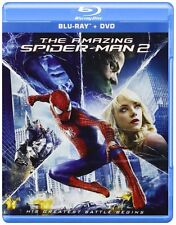 New; The Amazing Spider-Man 2 (Jamie Foxx, Emma Stone) Blu-Ray & DVD Combo
