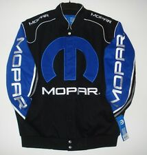 Size M Mopar Dodge  Embroidered  Cotton Twill Jacket JH Design  New  MD