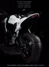 Honda CB500F/CB500X/CBR500R Rear Splash Guard/Mud Guard Pure Carbon Twin Bracket