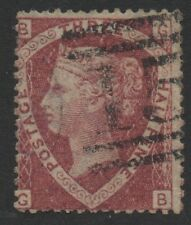 Vic - 1870. sg52. 1 1/2 D lake-red (placa 3). fino ejemplo Usado. Gato £ 75.