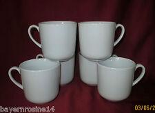 6 x Kaffeebecher 0,32 L weiß - Schönwald Porzellan - Form 98 - Dibbern Form NEU!