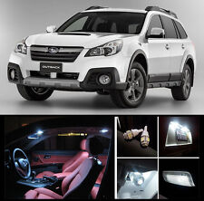 2010 - 2015 Subaru Outback Premium White LED Interior Package (12 Pieces)