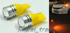 1 Pair 12V T10 W5W Round Lens SMD HP 1.5W LED Car Clearance Lamp Side/Tail Light