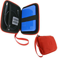 Red Case for WD My Passport SE for Mac Hard Drive (Suitable for 1TB models)