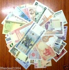 World Wide 50 UNC NEW ( no India ) Bank notes lot for note coin collector