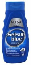 Selsun Blue Dandruff Shampoo, Full & Thick, 11 oz (Pack of 12)