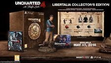 UNCHARTED 4 A Thief's End LIBERTALIA COLLECTORS EDITON - PS4 - NEW & SEALED