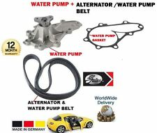 FOR MAZDA RX8 1.3 2003--  WATER PUMP + ALTERNATOR FAN BELT / WATER PUMP
